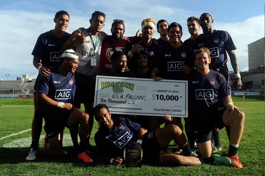 2014 RugbyTown 7s Champions